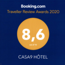 Casa9 Hotel**** - Booking.com Guest Rview Awards 2020