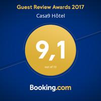 Casa9 Hotel**** - Booking.com Guest Rview Awards 2016